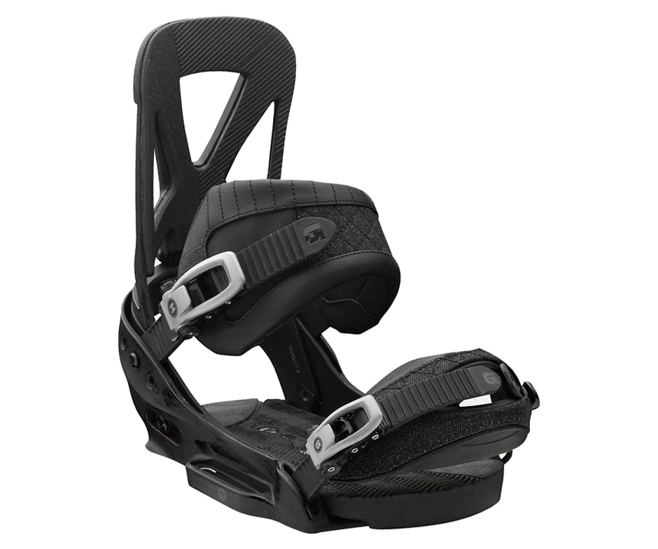 Image: Burton Mens Mission EST Restricted Snowboard binding